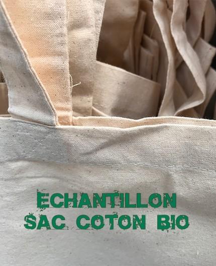 echantillon sac coton bio