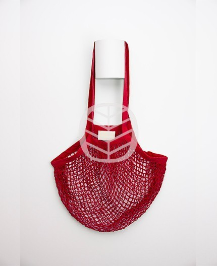 sac coton rouge