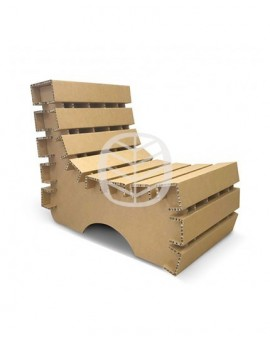 mobilier carton stand