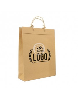 sac papier recyclé luxe
