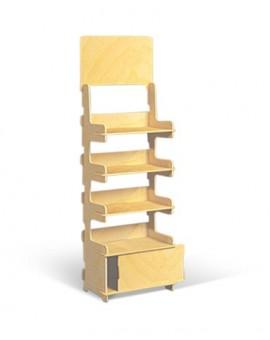 présentoir colonne