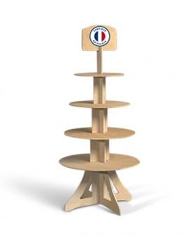 PLV présentoir colonne